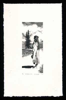 Summer's End - Limited Edition Lithography Print by Al Young