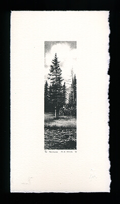 Solitude - Limited Edition Lithography Print by Al Young