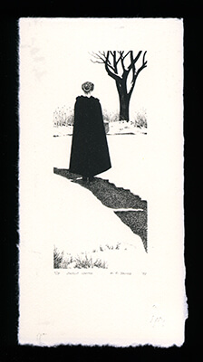 Snow White - Limited Edition Lithography Print by Al Young