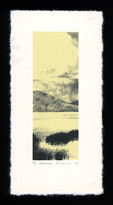 Lakeshore - Limited Edition Lithography Print by Al Young