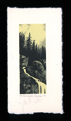 Back Country - Limited Edition Lithography Print by Al Young