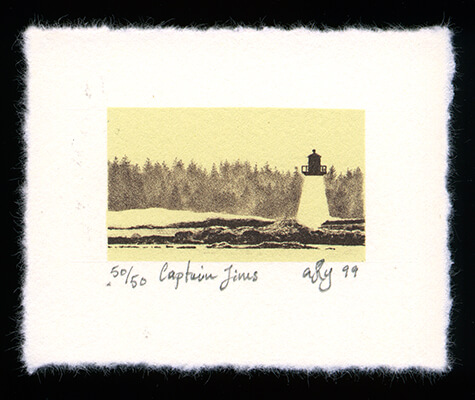 Captain Jim's - Limited Edition Lithography Print by Ashton Young