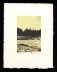 Black Island - Limited Edition Lithography Print