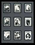 Stamp Page 1 - Limited Edition Lithography Print