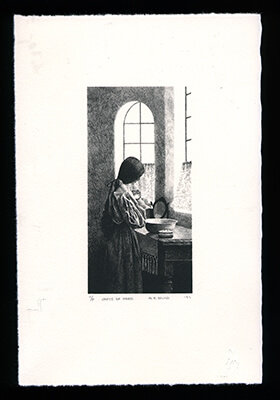 Gifts of Morn - Limited Edition Lithography Print by Al Young