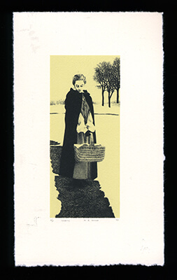 Charity - Limited Edition Lithography Print by Al Young