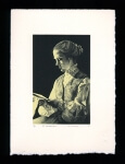 By Candlelight - Limited Edition Lithography Print