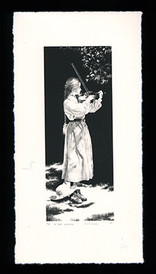 In the Clearing - Limited Edition Lithography Print by Al Young