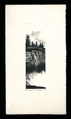 Land's End - Limited Edition Lithography Print by Al Young