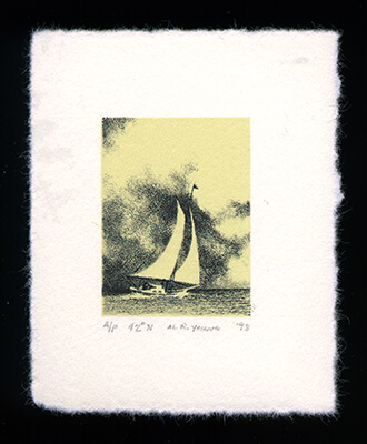 42° North - Limited Edition Lithography Print by Al Young