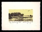Murmuring Lake - Limited Edition Lithography Print