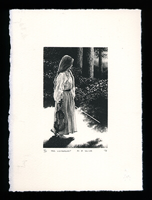 The Limberlost - Limited Edition Lithography Print by Al Young
