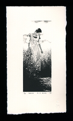 Perdita - Limited Edition Lithography Print by Al Young