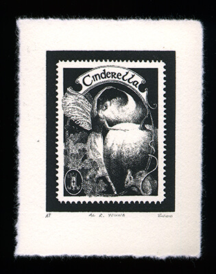 Fairy Tales 1 - Limited Edition Lithography Print by Al Young