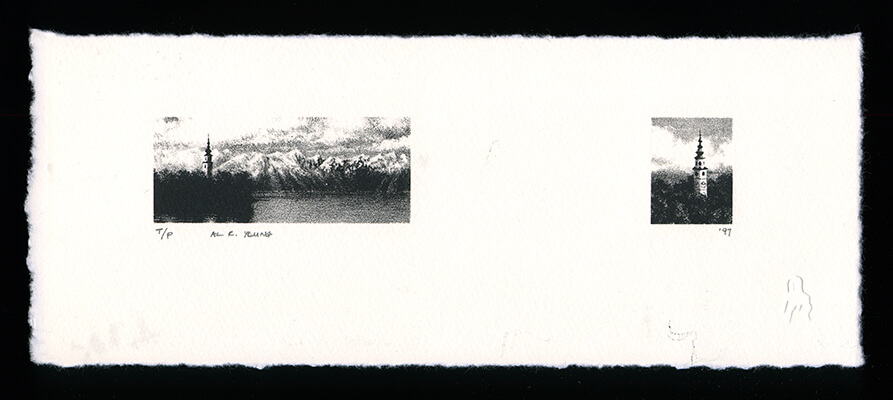 Untitled - Limited Edition Lithography Print by Al Young