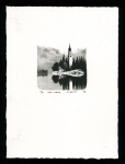 Wald Kirche - Limited Edition Lithography Print