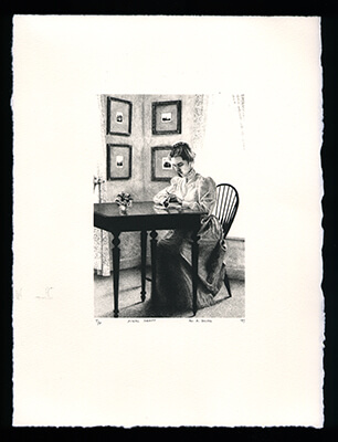 Final Draft - Limited Edition Lithography Print by Al Young
