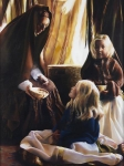 The Daughters Of Zelophehad - 18 x 24 giclée on canvas (unmounted)