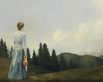 Mountain Home - 8 x 10 giclée on canvas (pre-mounted)