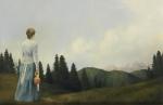 Mountain Home - 10.5 x 16 giclée on canvas (pre-mounted)