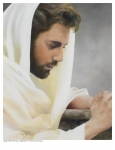 We Heard Him Pray For Us - 8 x 10 print