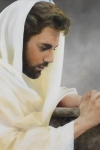 We Heard Him Pray For Us - 20 x 30 giclée on canvas (unmounted)