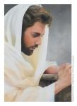 We Heard Him Pray For Us - 4 x 5.75 print