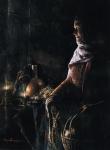 A Lamp Unto My Feet - 18 x 24.5 print