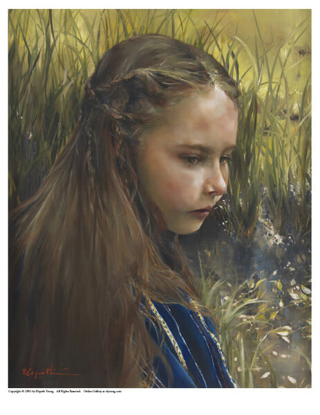 By The River's Brink - 8 x 10 print by Elspeth Young