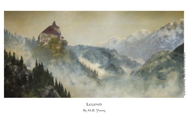 Legend - 11 x 17 print by Al Young