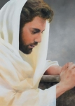 We Heard Him Pray For Us - 20 x 28 print