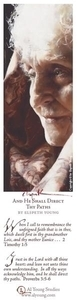 And He Shall Direct Thy Paths - Bookmark by Elspeth Young