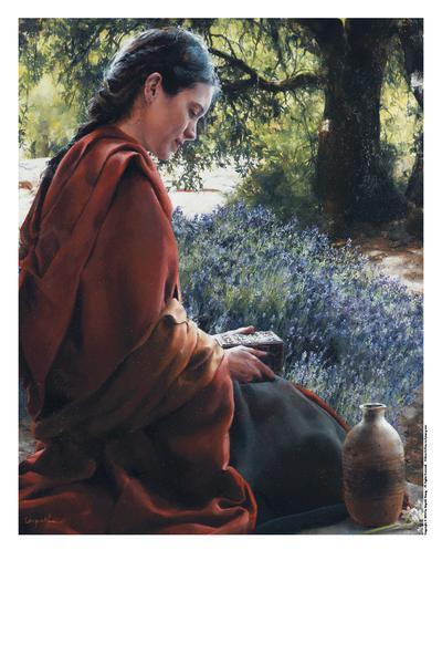 She Is Come Aforehand - 11 x 14 print by Elspeth Young