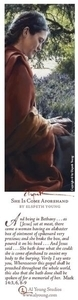 She Is Come Aforehand - Bookmark by Elspeth Young