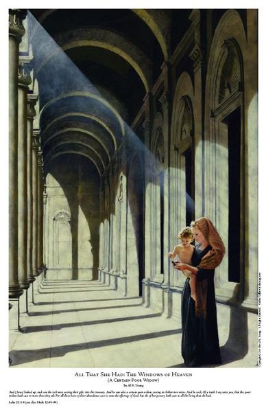 The Windows Of Heaven - 11 x 17 print by Al Young