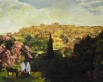 Unto The City Of David - 8 x 10 giclée on canvas (pre-mounted)