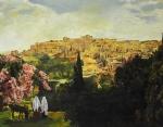 Unto The City Of David - 11 x 14 giclée on canvas (pre-mounted)