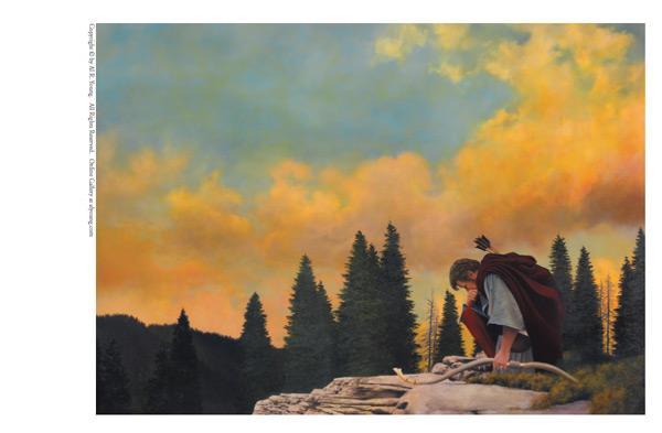 And My Soul Hungered - 5 x 7 print by Al Young