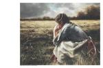 As A Sparrow Alone - 11 x 14 print
