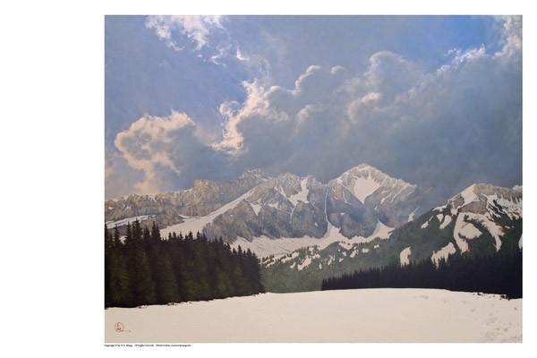 Den Kommende Våren - 11 x 14 print by Al Young