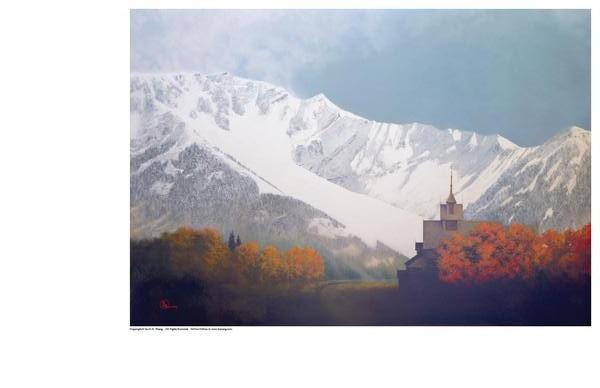 Den Kommende Vinteren - 9 x 13 print by Al Young