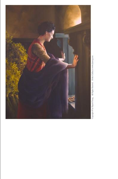 Waiting For The Promise - 4 x 5.25 print by Elspeth Young