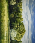 Green And Pleasant Land - 8 x 10 giclée on canvas (pre-mounted)
