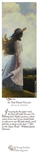 In The High Valley - Bookmark by Al Young