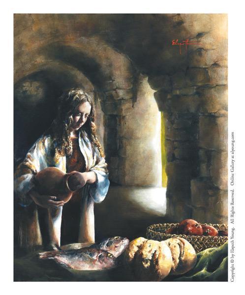 Martha, Martha - 4 x 5 print by Elspeth Young