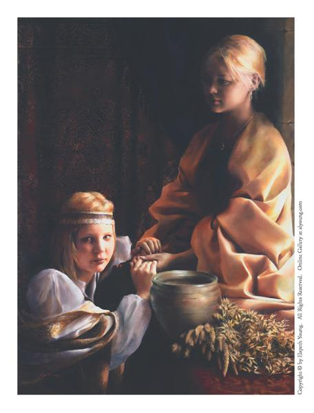 The Trial Of Faith - 4 x 5.5 print by Elspeth Young