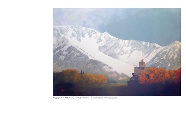 Den Kommende Vinteren - 4 x 5 print by Al Young