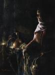 A Lamp Unto My Feet - 6 x 8.25 giclée on canvas (pre-mounted)