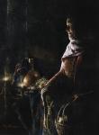 A Lamp Unto My Feet - 9 x 16.25 giclée on canvas (pre-mounted)