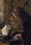 Charity Never Faileth - 18 x 26 giclée on canvas (unmounted)